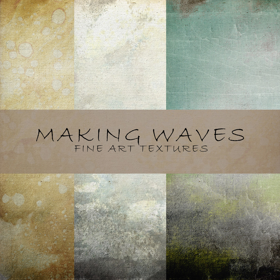 Making Waves – Fan Freebie Texture Set