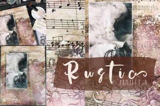 Rustic mixed media workshop