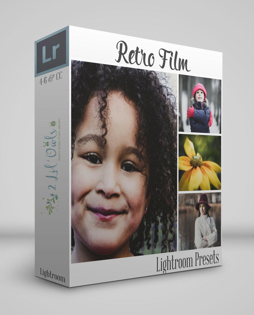 Retired - Retro Film Lightroom/ACR Presets