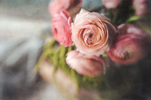 flower-stilllife-using-photoshop-textures