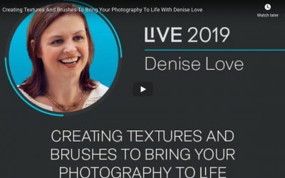 Replay webinar: Creating Textures And Brushes To Bring Your Photography To Life