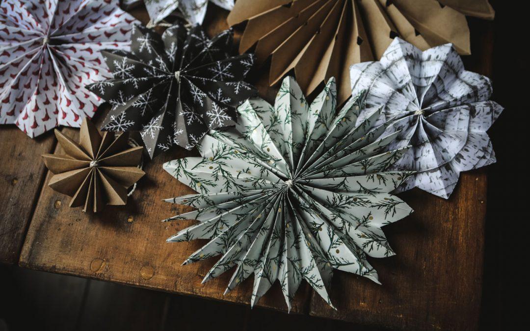 Handmade Christmas – Paper Star Tutorial