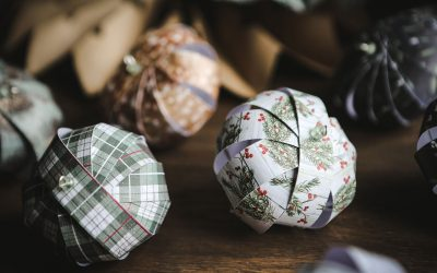 Handmade Christmas – Paper Ornaments Tutorial