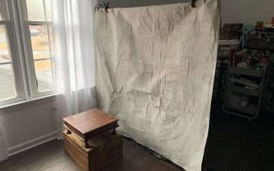 Painting Large Backdrops – Free Mini Workshop