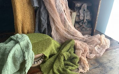 What fabrics do I love to use for still-life photos?